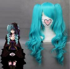 MIKU HATSUNE COSPLAY BLUE LONG PONYTAIL WIG