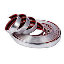 3M Silver Car Auto Chrome DIY Moulding Trim Strip For Grille Window Door Bumper