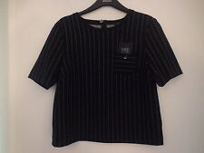 Marks and Spencer Polyester Striped Tops & Shirts for Women