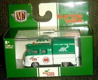 M2 MACHINES 1959 VW DOUBLE CAB TRUCK R53 20-32 TURTLE WAX DIECAST COLLECTION