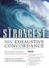 The Strongest NIV Exhaustive Concordance Strongest Strong's