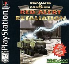 Command And Conquer Red Alert Retaliation - PS1 PS2 Playstation1 Game only