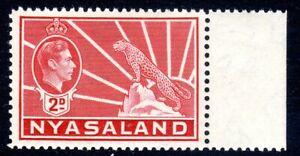 NYASALAND--  1942   - sg 133a     2d  carmine  mnh um