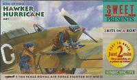 Sweet Aviation 02 Royal Air Force Hawker Hurricane Mk.I Fabric Wing 1/144 Scale