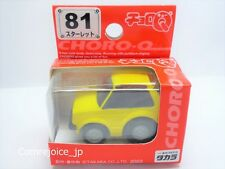 Choro Q TAKARA STD-81 TOYOTA STARLET Yellow STANDARD No.81 NEW F/S