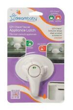 Dreambaby Swivel Oven Lock with Ez-Check Indicator, White 1 Pack