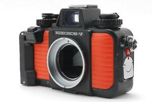 *EX* NIKON Nikonos V Underwater 35mm Film Camera Body Orange From Japan #FedEx#