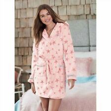 NEW LIPSY LONDON Cozy Pink Dressing Gown Robe 14/16