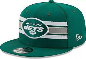 New York Jets Hat NYJ New Era 9Fifty 950 NFL Football Snapback Green White
