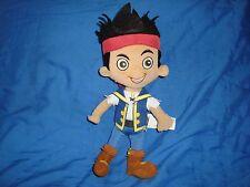 "Disney Store Jake and the Neverland Pirates Captain Jake Plush 9"""