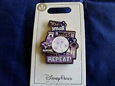 Disney * IT'S A SMALL WORLD - CLOCKFACE - REPEAT REPEAT REPEAT * New Trading Pin