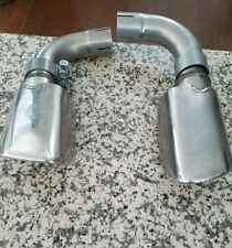 OEM NEW Volvo S60 2011 2012 2013  Chrome Exhaust Pipe tips PAIR