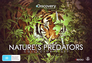 Nature's Predators (Collector's Set) (Discovery Channel) - DVD (NEW & SEALED)