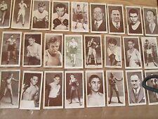 1938 Churchman Boxing Personalities REPRINT SET
