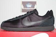 Nike Cortez Basic QS 1972 Triple Black/Anthracite Retro 842918-001 Men's US 8