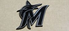 MLB Miami Marlins Chrome Diecast 3D Poker Card Guard Protector Golf Marker 3""