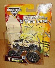 2017 Hot Wheels Monster Jam El Toro Loco Limited Edition Halloween Truck