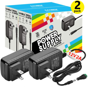 12V DC Power Supply, SANSUN 12 Volt Power Supply for LED Strip Lights, AC120V to