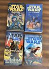 Lot of 4 Star Wars Paperbacks - Courtship of Leia, Heir, New Dawn, Into the Void