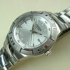 Nice Men's Fossil All Stainless Steel 10 ATM Watch - PR5332