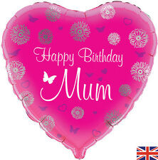 """18"""" HAPPY BIRTHDAY MUM HELIUM FOIL BALLOON! LOTS MORE IN SHOP!"""