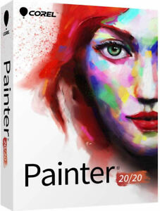 Corel Painter 2020 Full Commercial Version - New Retail Box