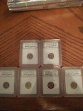 2 Slabbed Roman Constantine Great Era Ancient Bronze Coin 330Ad
