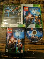 LEGO Harry Potter: Years 1-4 Microsoft Xbox 360 WORKING TESTED COMPLETE W/manual