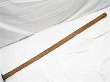 "Antique Wood Lumber Logging Rule Rule Tool Board Feet 36"" Yard Measure Stick"
