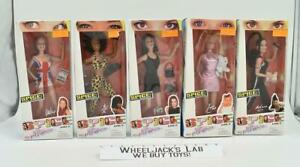 Spice Girls Girl Power Set of 5 dolls MISB 1997 Galoob Action Figures Doll