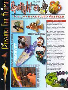 """Spotlight on"" Hollow Beads and Vessels - Corina Tettinger"