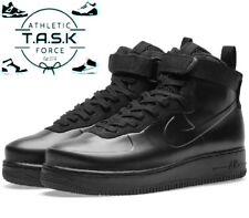 🔥 Nike Air Force 1 AF1 Foamposite Cup Triple Black Sz 8 AH6771-001 BNIB $200
