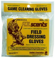 Hunters Field Dressing Shoulder Length Latex Glove 2 Pair/Pack One Size 01071