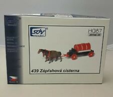 SDV Plastic Model Kit 1/87 H0 Horse Drawn Carriage Water Tank Fire Vehicle