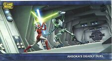 Star Wars Clone Wars Widevision Silver Stamped Parallel Base Card [500] #26