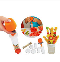 Creative Plastic Fruit Vegetable Cutter Slicer Kitchen Cooking Gadgets New