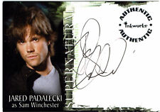 Supernatural Season 1 Autograph Card A-1 Jared Padalecki as Sam Winchester A1