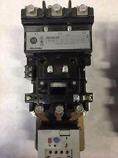509-DOD-XXX Allen Bradley Size 3 Starter 120V Coil 592-EEGD w/ NEW CONTACTS