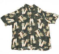 90s Vintage Hawaiian Shirt   Men's XL   Retro Hawaii Aloha Festival Summer