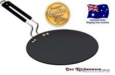 Iron Tortilla Pan with steel Handle 260 MM (Roti Tawa) $ 21.99