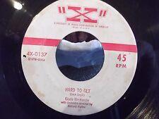 GISELE MACKENSIE ON X RECORDS BOSTON FANCY / HARD TO GET