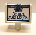 SCHLITZ MALT LIQUOR TAP KNOB / HANDLE - Vintage - Beer - Ale - Small Clean!