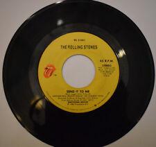 4 Stück Rolling Stones Singles 45 Rpm 60er Années 70 Rock