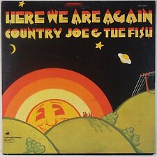 COUNTRY JOE McDONALD: Here We Are Again VANGUARD Psych ORIG VG+ LP