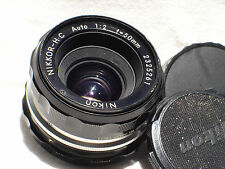 NIKON NIKKOR-H .C auto 50mm F 2  (Non Ai ) Lens SN2325261