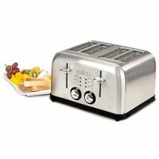 Salton ET1404 Electronic Toaster 4 Slices Stainless Steel