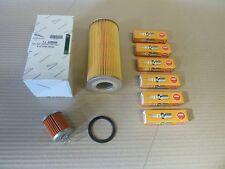Jaguar - MK2  E Type Service kit - Oil filter Element, Fuel filter + Spark Plugs