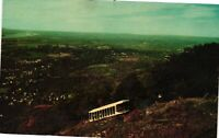Vintage Postcard - Mt Beacon Incline Railroad Hudson River New York NY #4912