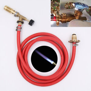 Brass gas torch Propane Gas torch With Hose Solder Propane Welding Kit Soldering