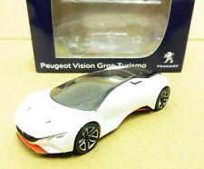 """Peugeot Vision Gran Turismo Blanc 1/64 """"3 Inches"""" Diecast NOREV Produit NEUF !!"""